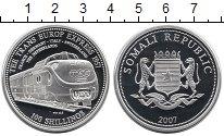 Изображение Монеты Сомали 100 шиллингов 2007 Серебро Proof