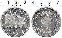 Изображение Монеты Канада 1 доллар 1981 Серебро Proof-