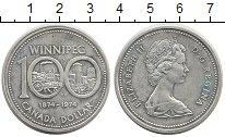 Изображение Монеты Канада 1 доллар 1974 Серебро Proof-