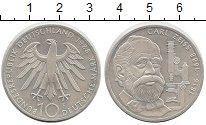 Изображение Монеты Германия ФРГ 10 марок 1988 Серебро UNC-