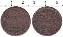 Изображение Монеты Италия Мантуя 2 сольди 1732 Медь VF+
