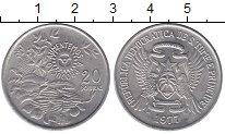 Изображение Монеты Сан Томе и Принсисипи 20 добрас 1977 Медно-никель UNC-