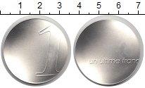 Изображение Монеты Франция 1 франк 2001 Серебро UNC