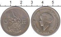 Изображение Монеты Люксембург 5 франков 1929 Медно-никель XF