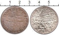 Изображение Монеты Сан-Марино 500 лир 1978 Серебро XF