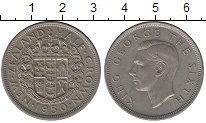 Изображение Монеты Новая Зеландия 1/2 кроны 1950 Медно-никель XF