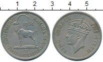 Изображение Монеты Родезия 2 шиллинга 1951 Медно-никель XF