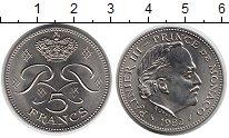 Изображение Монеты Монако 5 франков 1982 Медно-никель UNC-