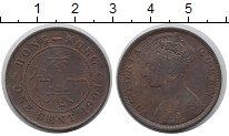 Изображение Монеты Китай Гонконг 1 цент 1901 Бронза XF