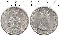Изображение Монеты Бермудские острова 1 крона 1964 Серебро UNC-