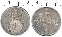 Изображение Монеты Португалия 100 эскудо 1976 Серебро Proof-