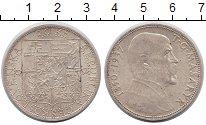 Изображение Монеты Чехословакия 20 крон 1937 Серебро XF на смерть Массарика
