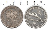 Изображение Монеты Польша 200 злотых 1980 Серебро Proof-