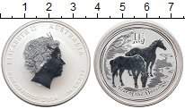 Изображение Монеты Австралия 50 центов 2014 Серебро Proof