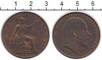 Изображение Монеты Великобритания 1 пенни 1903 Бронза XF