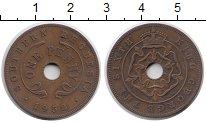 Изображение Монеты Великобритания Родезия 1 пенни 1952 Бронза XF