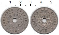 Изображение Монеты Родезия 1 пенни 1940 Медно-никель XF
