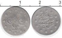 Изображение Монеты Турция 1 куруш 1880 Серебро XF-