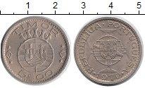Изображение Монеты Тимор 5 эскудо 1970 Медно-никель UNC-