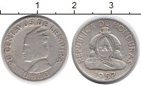 Изображение Монеты Гондурас 20 сентаво 1952 Серебро VF