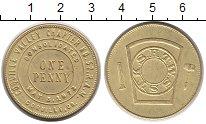 Изображение Монеты США 1 пенни 1973 Латунь XF+