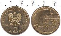 Изображение Мелочь Польша 2 злотых 2002 Латунь UNC- Орденский замок Мари