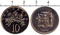 Изображение Монеты Ямайка 10 центов 1979 Медно-никель UNC-