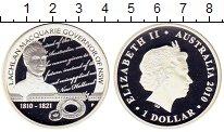 Изображение Монеты Австралия 1 доллар 2010 Серебро Proof