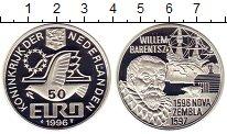 Изображение Монеты Нидерланды 50 евро 1996 Серебро Proof