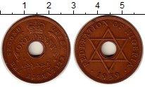 Изображение Монеты Нигерия 1 пенни 1959 Медь XF Корона