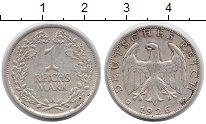 Изображение Монеты Веймарская республика 1 марка 1926 Серебро XF А