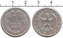 Изображение Монеты Веймарская республика 1 марка 1926 Серебро XF D