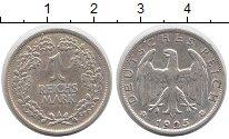 Изображение Монеты Веймарская республика 1 марка 1925 Серебро XF А