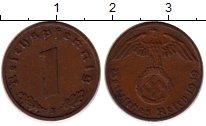Изображение Монеты Германия Третий Рейх 1 пфенниг 1939 Бронза XF