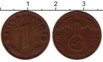 Изображение Монеты Третий Рейх 1 пфенниг 1937 Бронза XF D