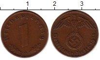 Изображение Монеты Третий Рейх 1 пфенниг 1938 Бронза XF A