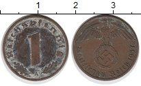 Изображение Монеты Третий Рейх 1 пфенниг 1937 Бронза XF- A
