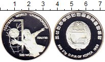 Изображение Монеты Северная Корея 500 вон 1989 Серебро Proof