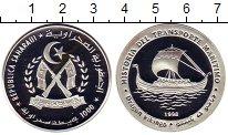 Изображение Монеты Сахара 1000 песет 1998 Серебро Proof