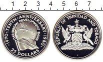 Изображение Монеты Тринидад и Тобаго 25 долларов 1980 Серебро Proof