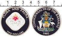 Изображение Монеты Багамские острова 2 доллара 1995 Серебро Proof