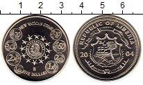 Изображение Монеты Либерия 5 долларов 2004 Медно-никель UNC-