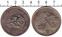 Изображение Монеты Эфиопия 2 бирра 1982 Медно-никель UNC- Чемпионат мира по фу