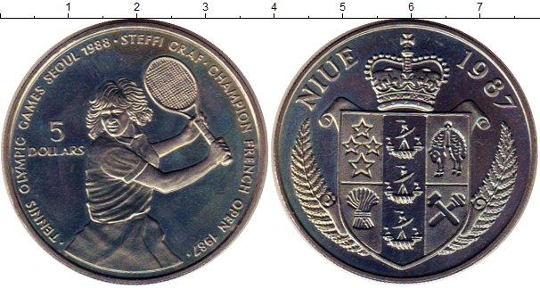 Картинка Монеты Ниуэ 5 долларов Медно-никель 1987