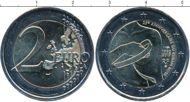 Картинка Мелочь Франция 2 евро Биметалл 2017