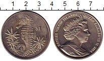 Изображение Монеты Виргинские острова 1 доллар 2014 Медно-никель UNC- Морской конек