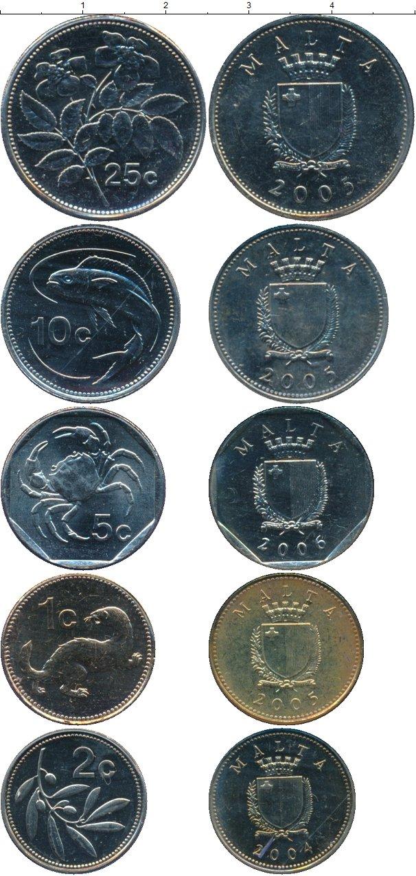 Картинка Наборы монет Мальта Мальта 2004-2006  0