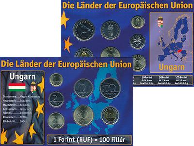 Изображение Подарочные монеты Венгрия Венгрия 1998-2007 0  UNC В наборе 7 монет ном