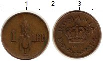 Изображение Монеты Румыния 1 лей 1938 Латунь XF