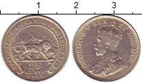Изображение Монеты Восточная Африка 25 центов 1913 Серебро XF